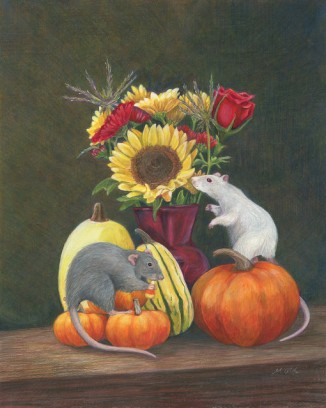 still life with rats 2